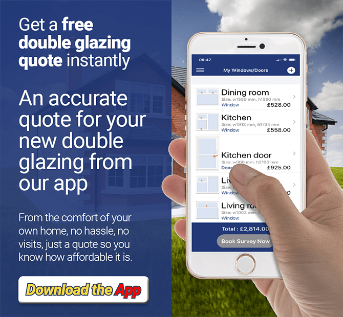 Get a free double glazing quote instantly