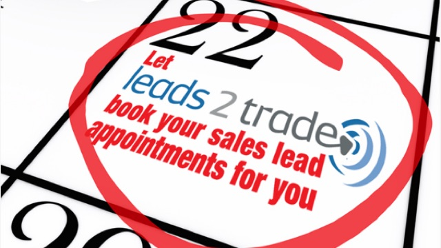 Let Leads 2 Trade book appointments for you.